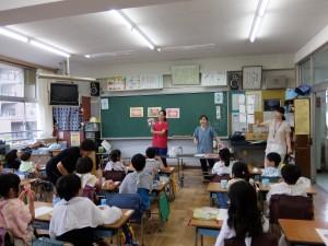 保育園と小学校の歯みがき教室