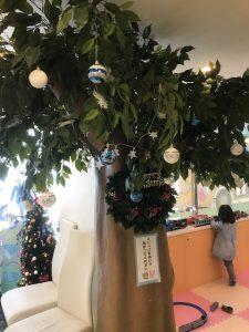 クリスマスイベント始まりました! 大田区蒲田の小児歯科
