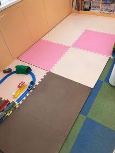 キッズルームのマットを新しくしました! 大田区蒲田の小児歯科