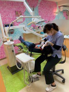 プレオルソと歯列育形成の併用  大田区蒲田の小児矯正