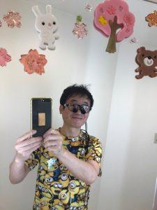 今日はミニオン   大田区蒲田の小児歯科