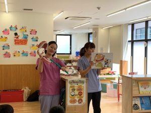 保育園の健診と歯ブラシ教室
