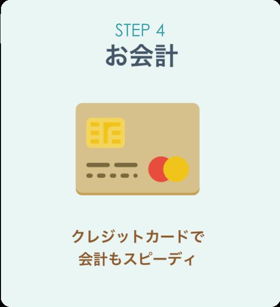 オンライン診療「クリニクス」STEP4:お会計